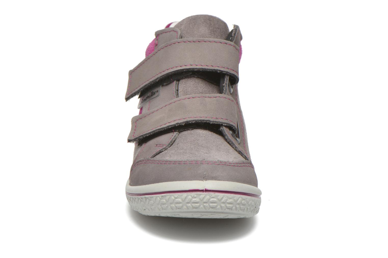 Baskets PEPINO Kimo Gris vue portées chaussures