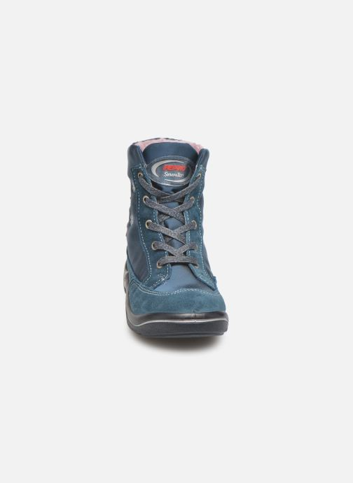 Bottines et boots Pepino Ruby Bleu vue portées chaussures