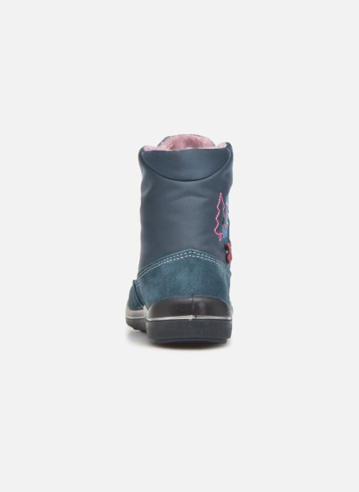 Bottines et boots Pepino Ruby Bleu vue droite