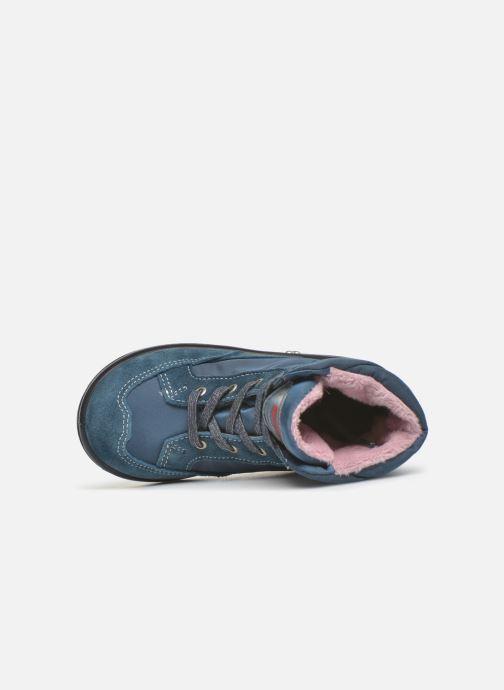 Bottines et boots Pepino Ruby Bleu vue gauche