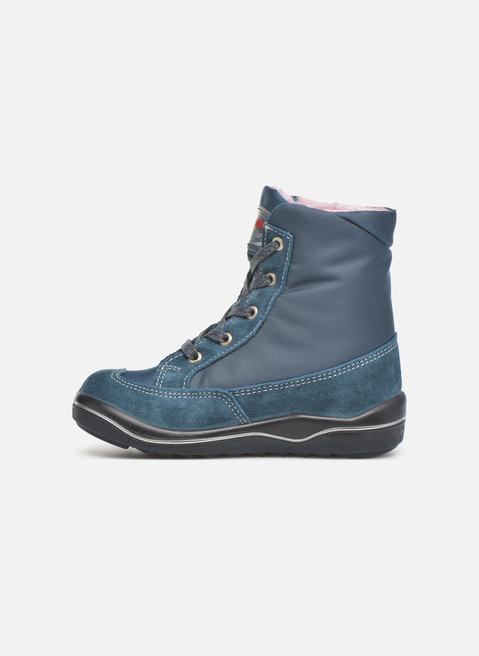 Boots en enkellaarsjes PEPINO Ruby Blauw voorkant