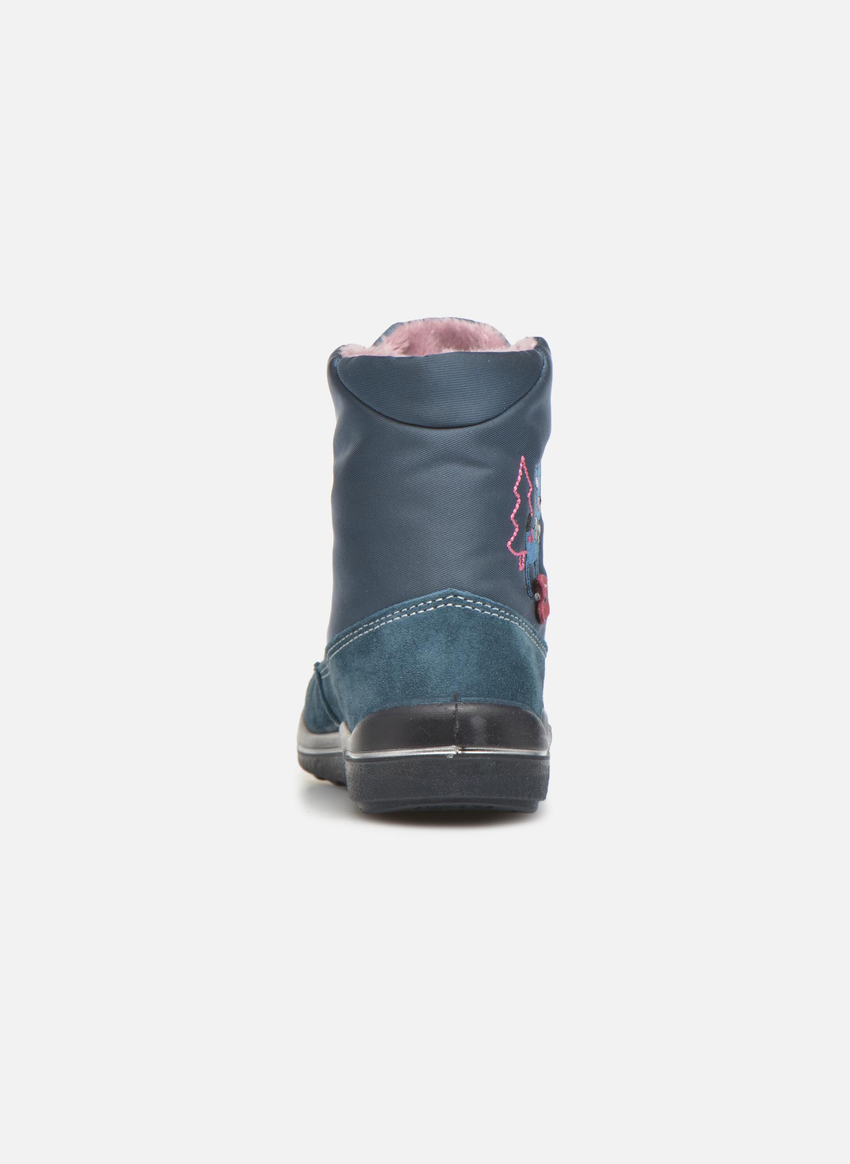 Boots en enkellaarsjes PEPINO Ruby Blauw rechts