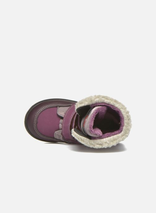 Bottines et boots Pepino Fenya Violet vue gauche