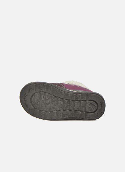 Bottines et boots Pepino Fenya Violet vue haut