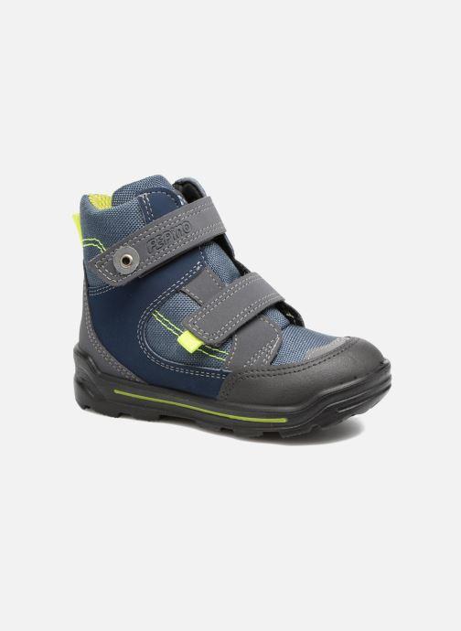 Bottines et boots Pepino Friso Bleu vue détail/paire