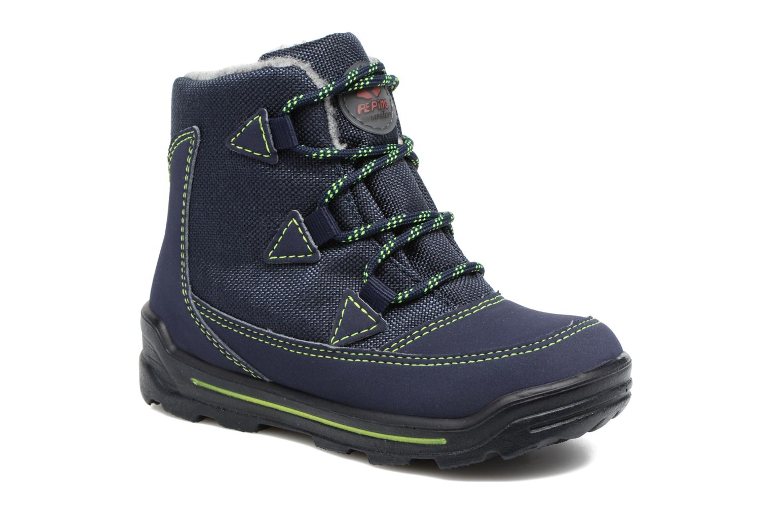 Ankle boots PEPINO Emil Blue detailed view/ Pair view