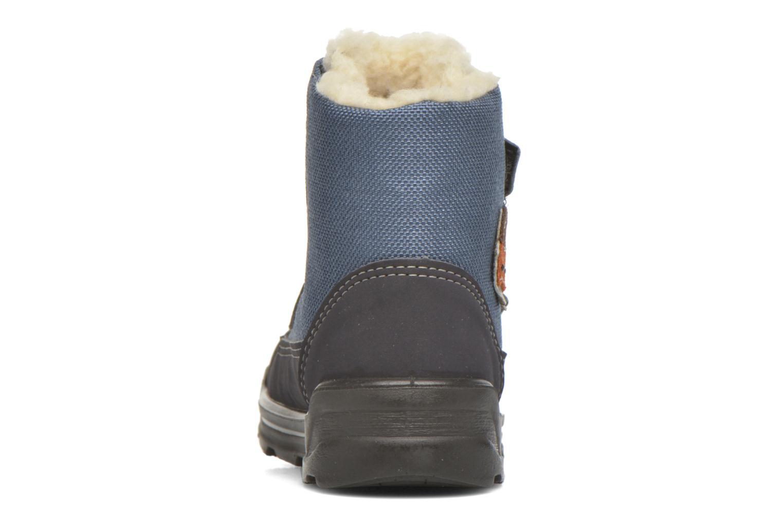 Bottines et boots PEPINO Foxy Bleu vue droite