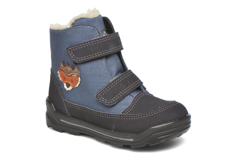 Bottines et boots PEPINO Foxy Bleu vue détail/paire