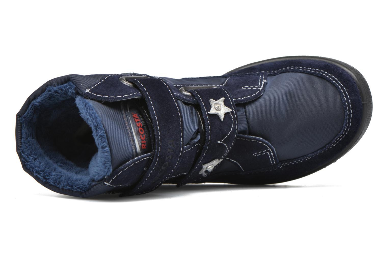 Stiefel Ricosta Sakura blau ansicht von links