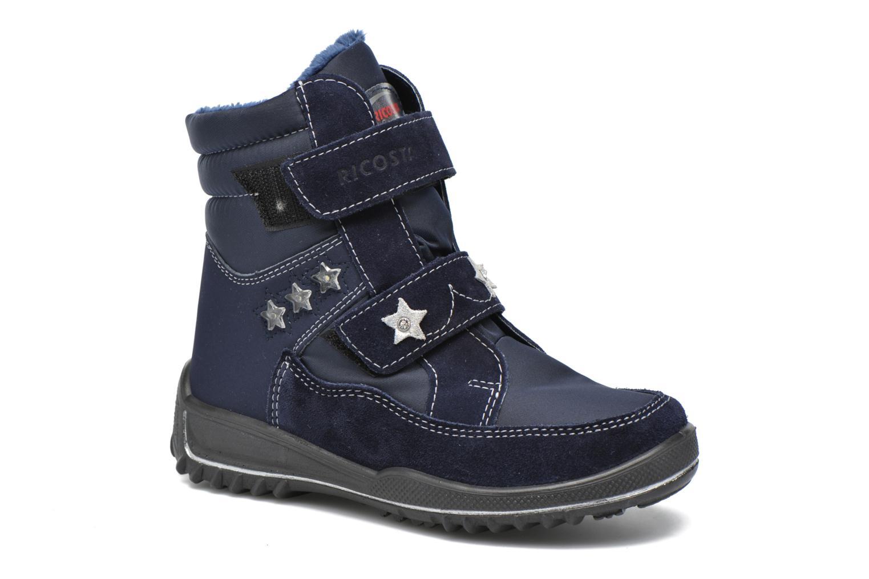 Boots & wellies Ricosta Sakura Blue detailed view/ Pair view
