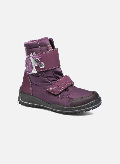 Støvler & gummistøvler Ricosta Garei-tex Lilla detaljeret billede af skoene