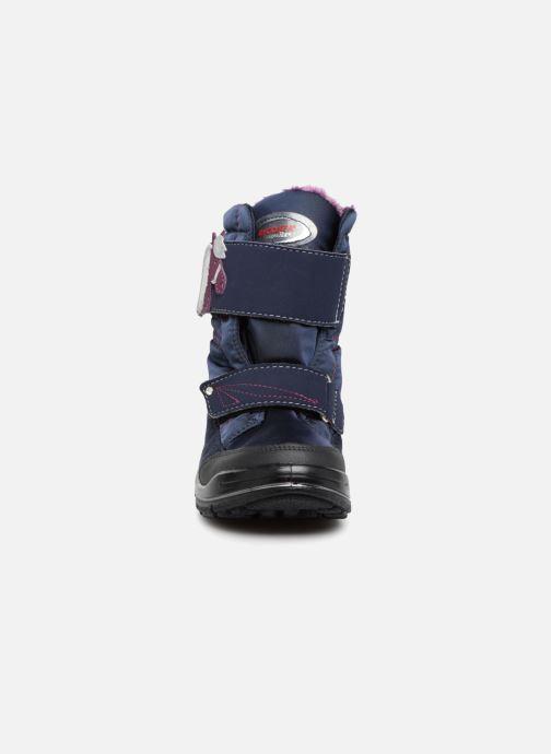 Bottes Ricosta Garei-tex Bleu vue portées chaussures