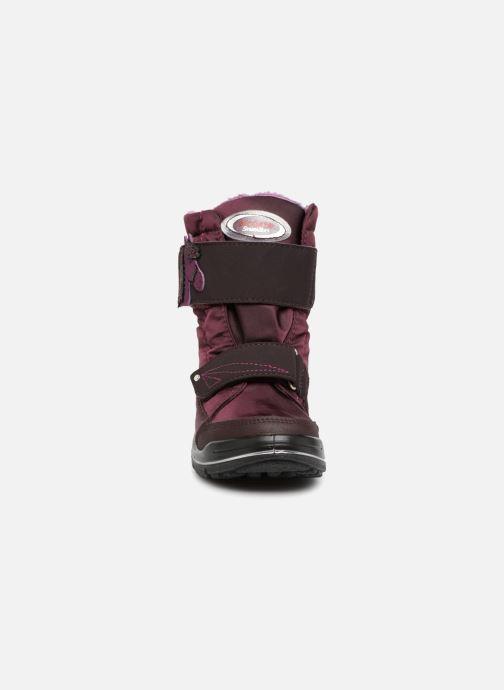 Bottes Ricosta Garei-tex Violet vue portées chaussures