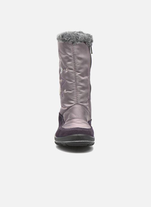 Stiefel Ricosta Reni lila schuhe getragen