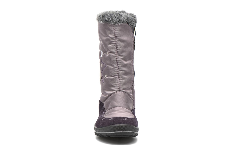 Bottes Ricosta Reni Violet vue portées chaussures