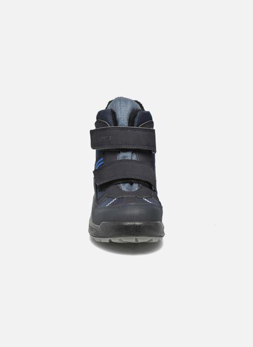 Bottes Ricosta Gabris Bleu vue portées chaussures