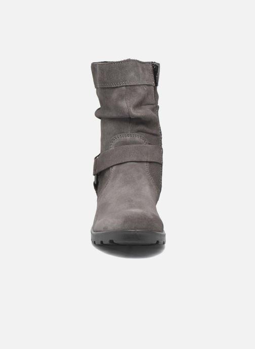 Bottes Ricosta Raquel Gris vue portées chaussures