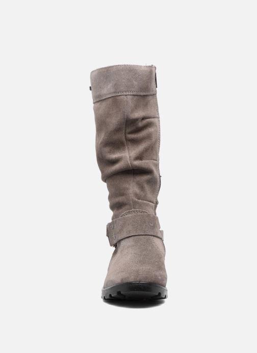 Bottes Ricosta Riana-tex Beige vue portées chaussures