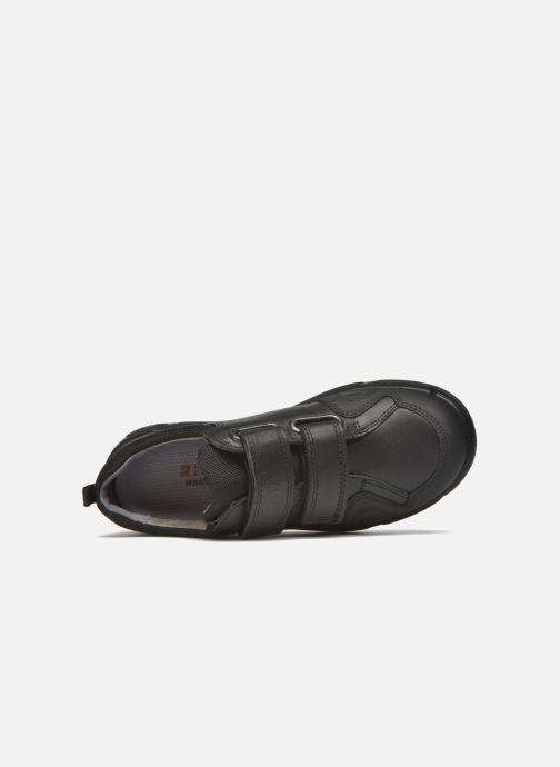 Zapatos con velcro Ricosta Tamo Negro vista lateral izquierda