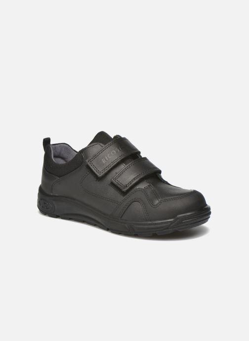 Zapatos con velcro Ricosta Tamo Negro vista de detalle / par