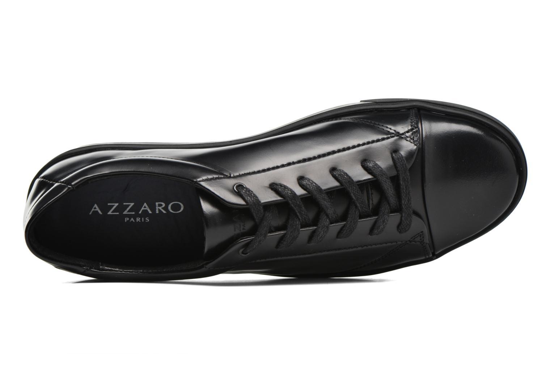 Baskets Azzaro Bardio Noir vue gauche