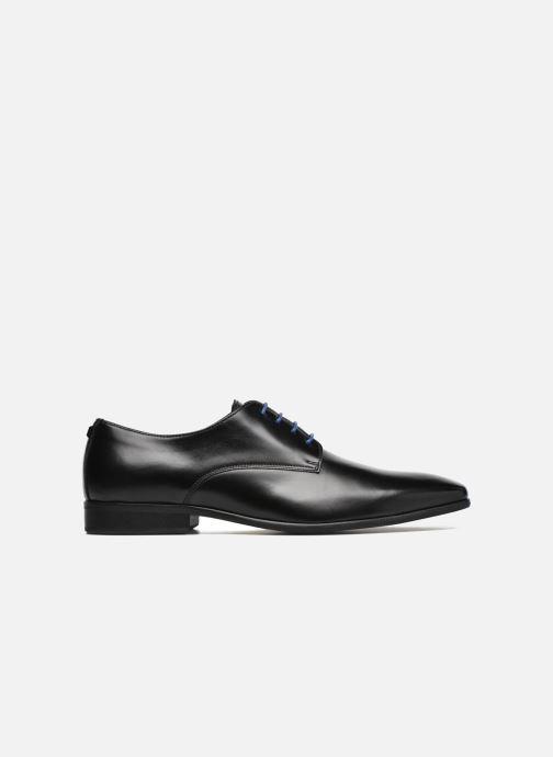 Chaussures à lacets Azzaro Jory Noir vue derrière