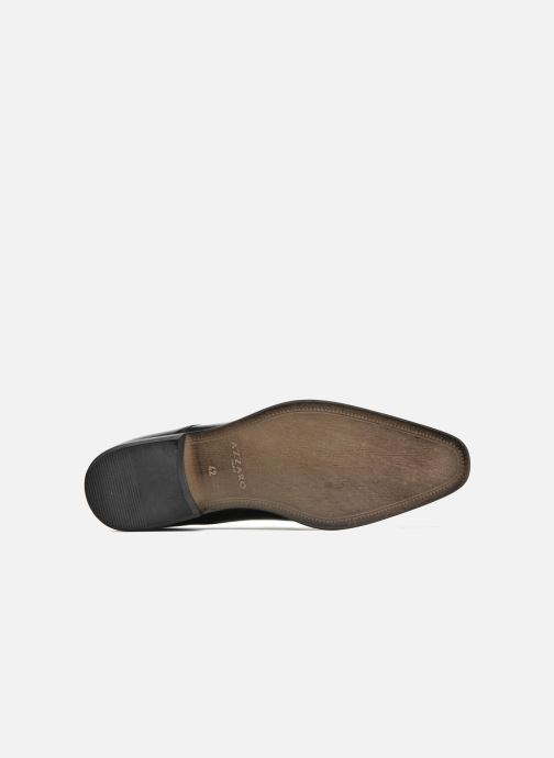 Chaussures à lacets Azzaro Jory Noir vue haut