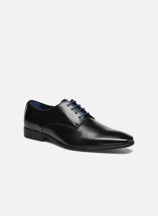 Chaussures à lacets Azzaro Jory Noir vue détail/paire