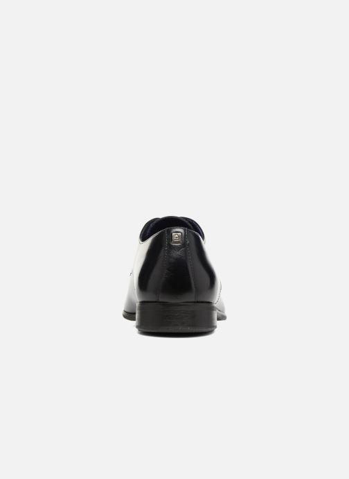 Zapatos con cordones Azzaro Jory Azul vista lateral derecha