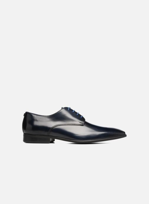 Zapatos con cordones Azzaro Jory Azul vistra trasera