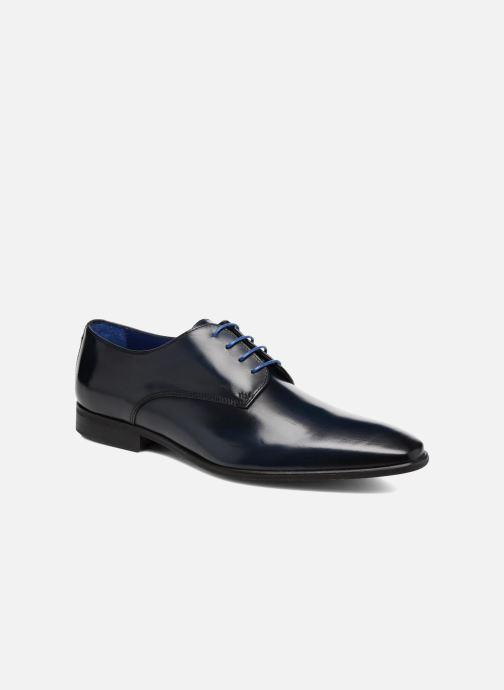 Snøresko Azzaro Jory Blå detaljeret billede af skoene