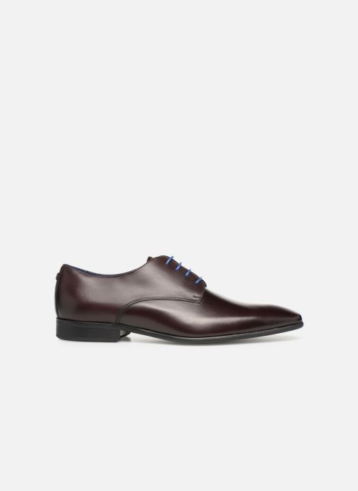Chaussures à lacets Azzaro Jory Bordeaux vue derrière