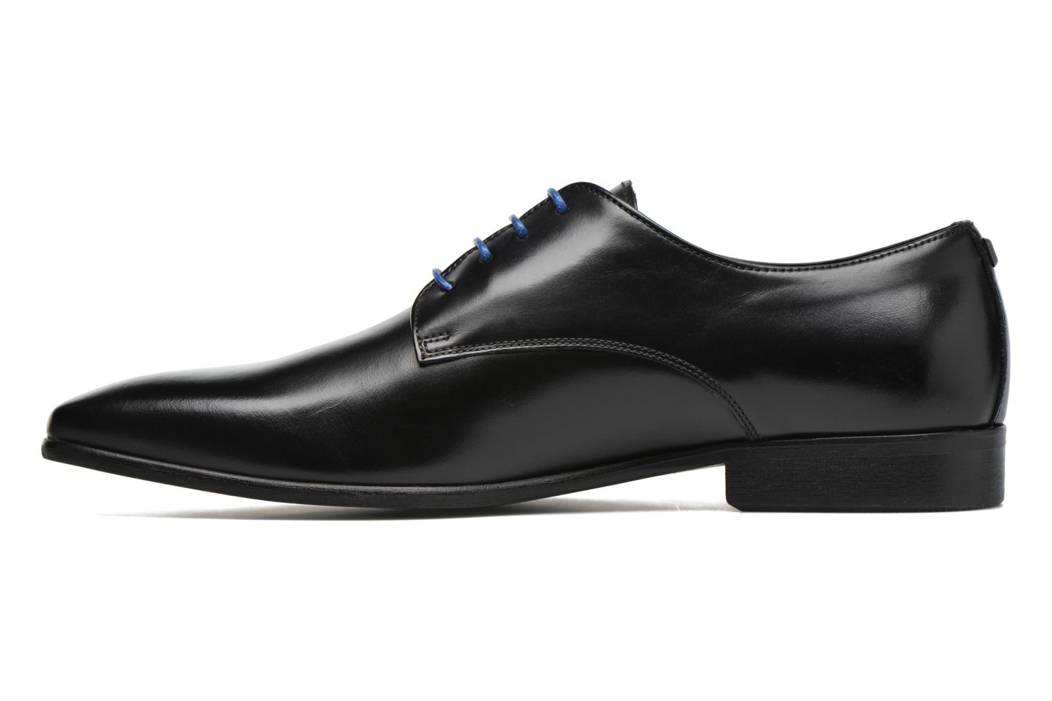 Lace-up shoes Azzaro Jory Black front view