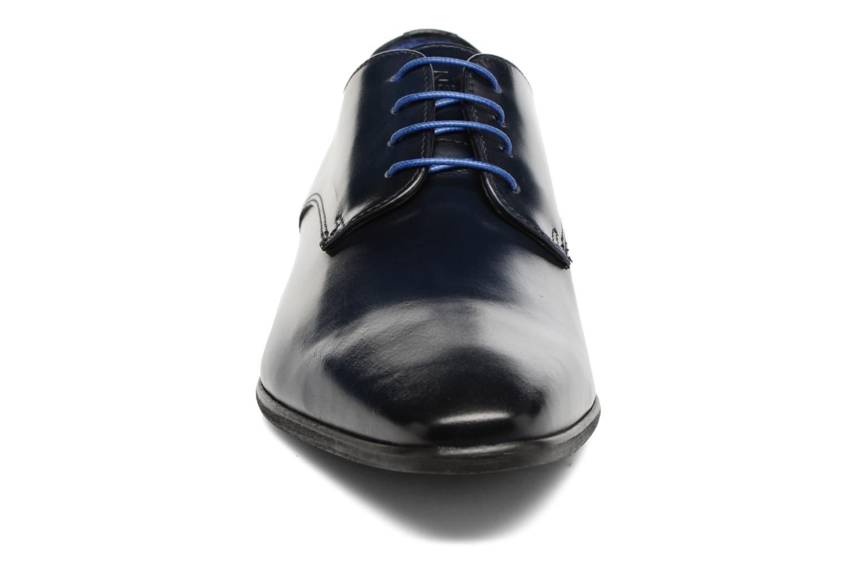 Zapatos con cordones Azzaro Jory Azul vista del modelo