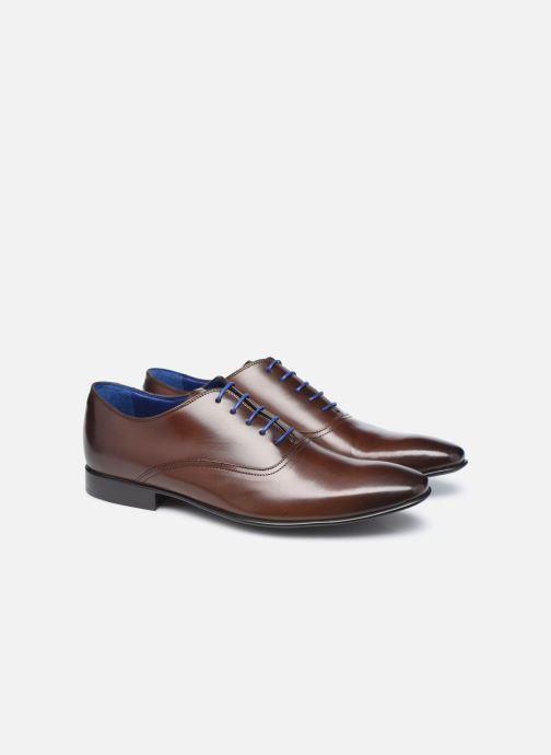 Zapatos con cordones Azzaro Nobodar Marrón vista 3/4