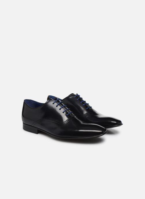 Zapatos con cordones Azzaro Nobodar Azul vista 3/4