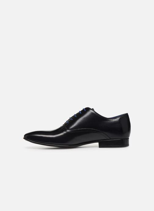 Zapatos con cordones Azzaro Nobodar Azul vista de frente