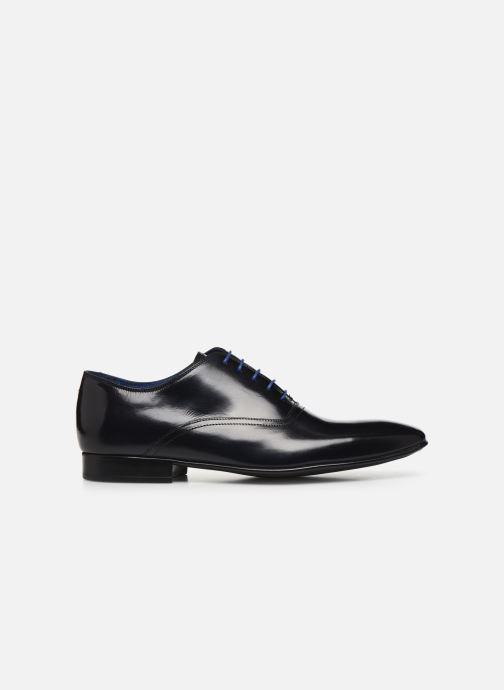 Zapatos con cordones Azzaro Nobodar Azul vistra trasera