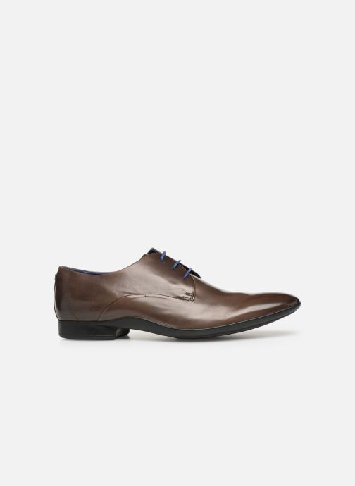 Lace-up shoes Azzaro Outino Brown back view