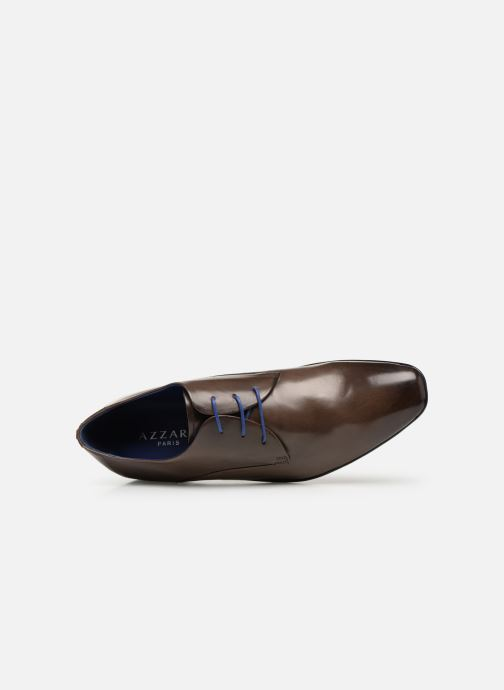 Lace-up shoes Azzaro Outino Brown view from the left