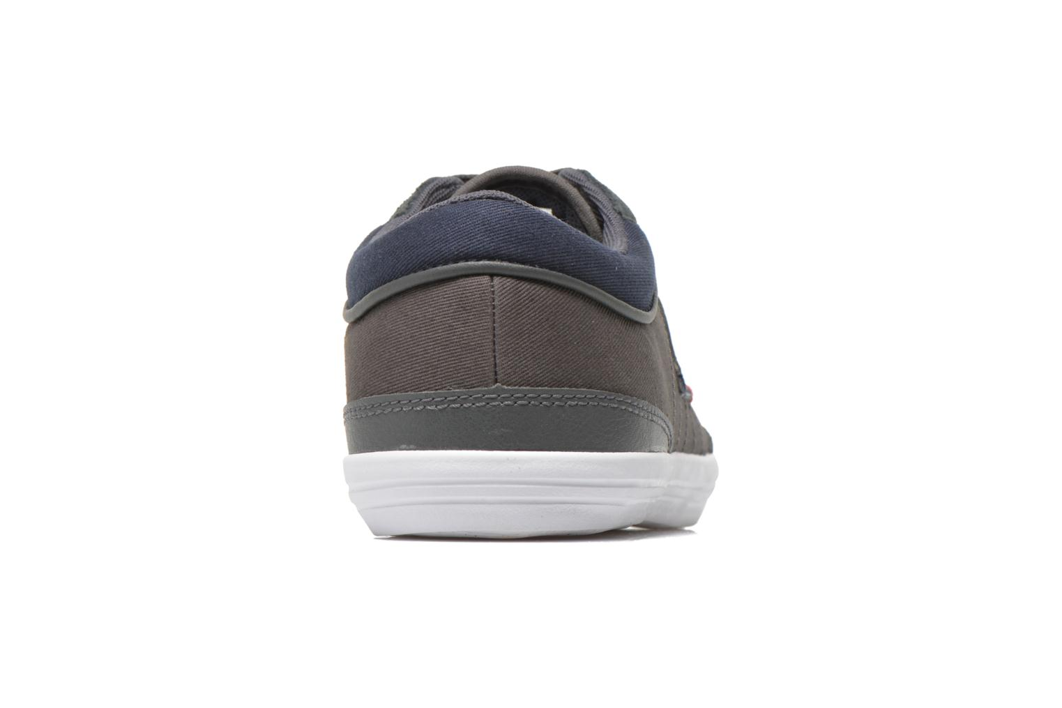 Trainers Le Coq Sportif Feretcraft Twill Cvs Grey view from the right