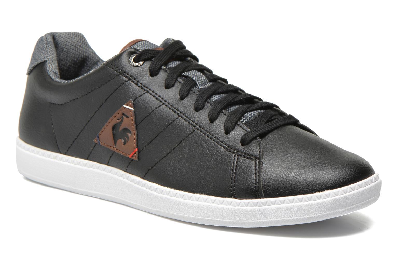 0a2b9fc19f5d germany sneakers le coq sportif courtcraft s lea sort detaljeret billede af  skoene a0acb 50aea