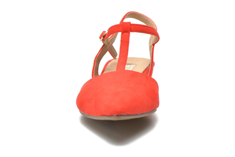 Sandales et nu-pieds Xti Mayotte 30101 Rouge vue portées chaussures