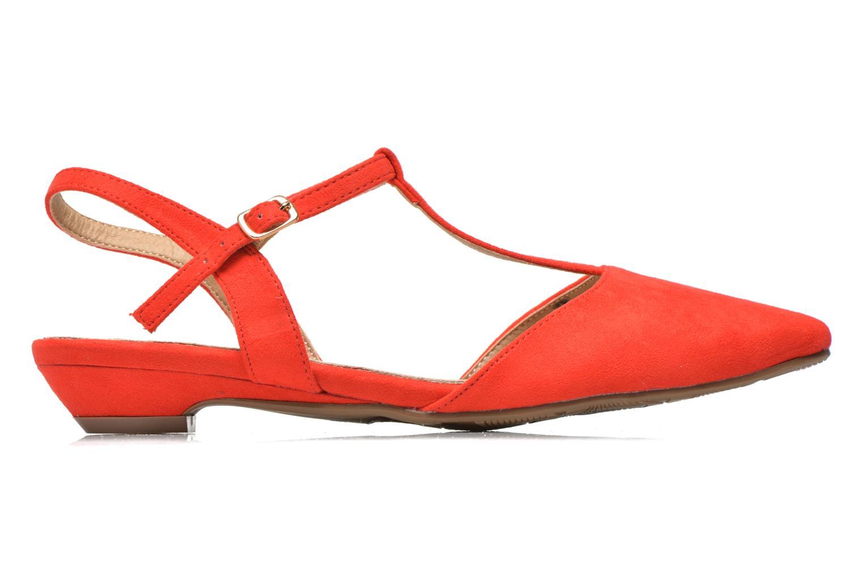 Sandales et nu-pieds Xti Mayotte 30101 Rouge vue derrière