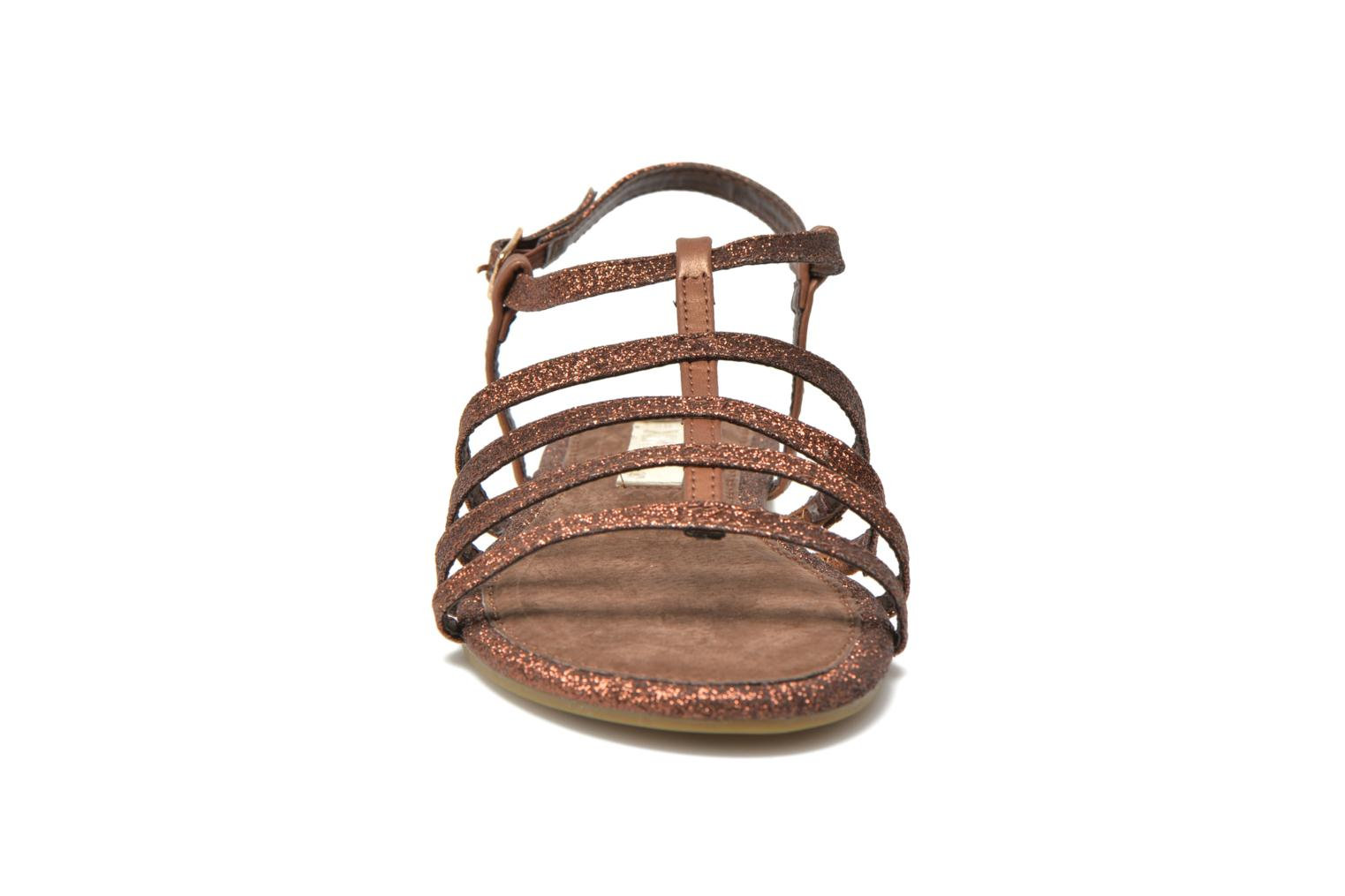 Sandals Xti Dominicana 30160 Bronze and Gold model view