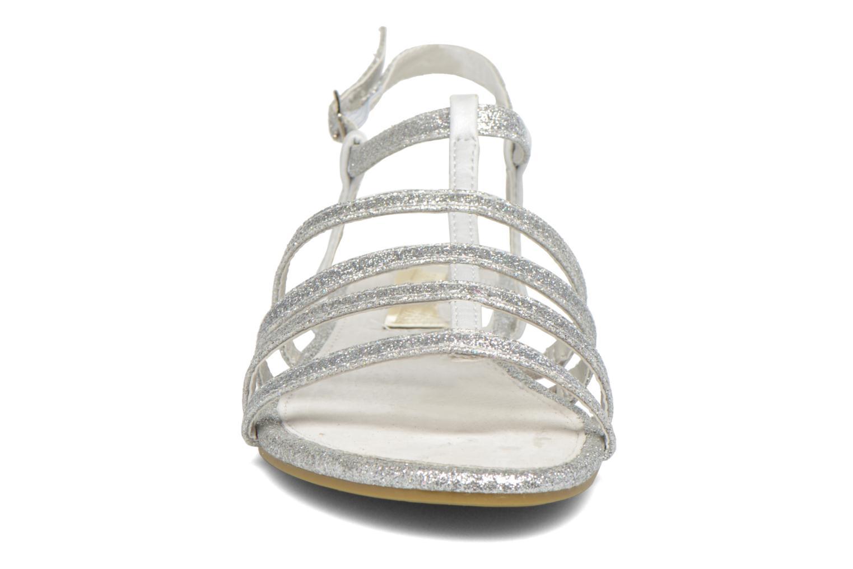 Sandales et nu-pieds Xti Dominicana 30160 Argent vue portées chaussures