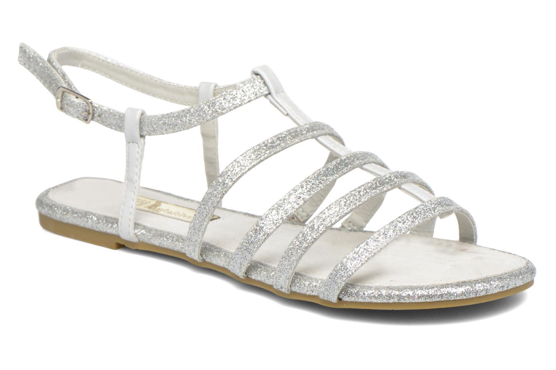 Sandales et nu-pieds Xti Dominicana 30160 Argent vue détail/paire