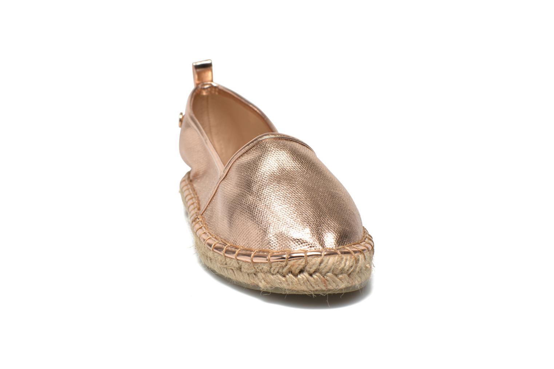 Espadrilles Xti Abel 30171 Or et bronze vue portées chaussures