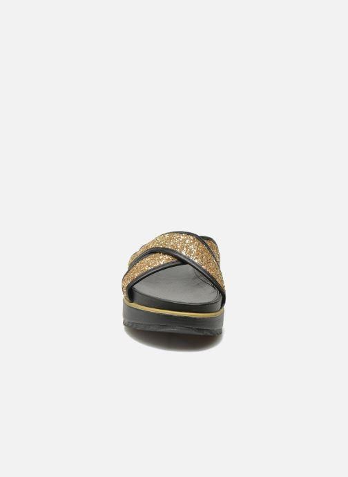 Clogs & Pantoletten Xti Levana 45234 gold/bronze schuhe getragen