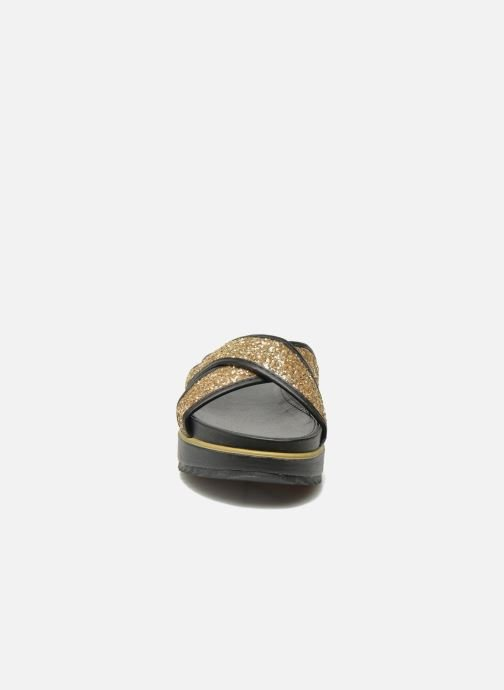 Mules & clogs Xti Levana 45234 Bronze and Gold model view